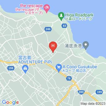 ゲストハウスAloAloの地図