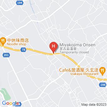 宮古島温泉ホテルの地図