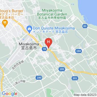 民宿サンルームの地図