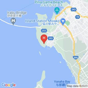 リゾートウィークリーLaLaの地図