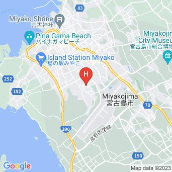 宮古島センチュリーマンションの地図