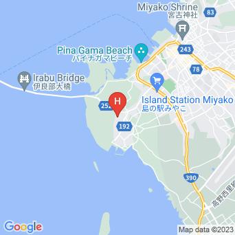 素泊民宿なが浜の地図