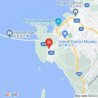 民宿島人の地図