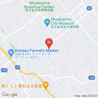 民宿サフラン宮古島の地図