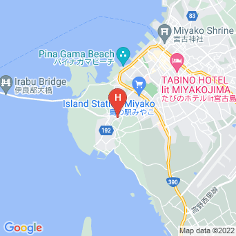 ゆにの里 ぱりなかの地図