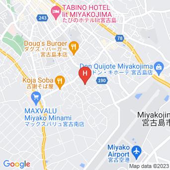宿タテッチャーの地図
