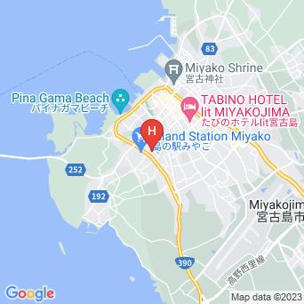 ゲストハウス パークサイドの地図