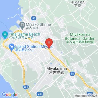アザミ7宮古島/AZAMI7の地図