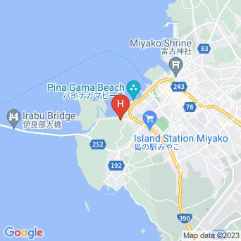 トゥリバーリゾート/Twuriba Resortの地図