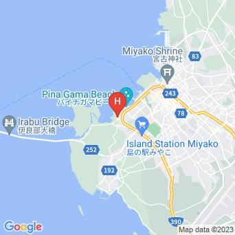 パイナガマビーチリゾート宮古島物語アネックス トゥリバー別館の地図