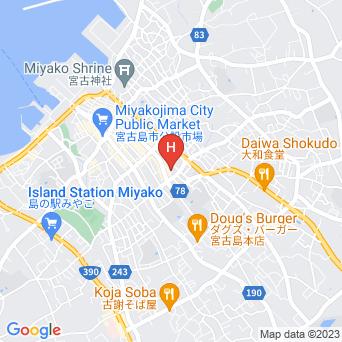 ゲストハウスひだまり/HIDAMARIの地図