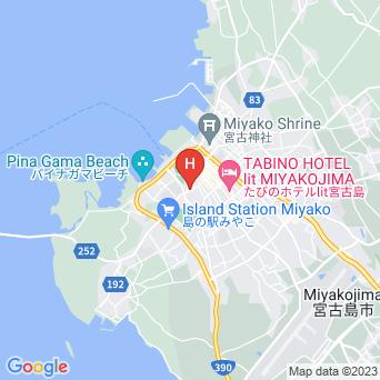ペンション きらきらの地図