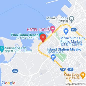 ホテルサザンコースト宮古島の地図