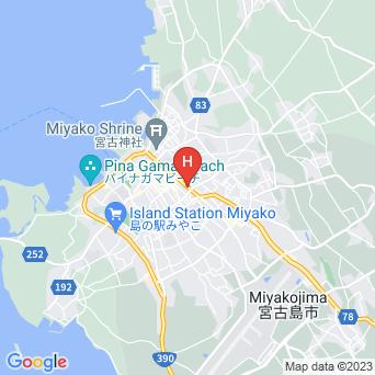 琉球の宿 黒門町の地図