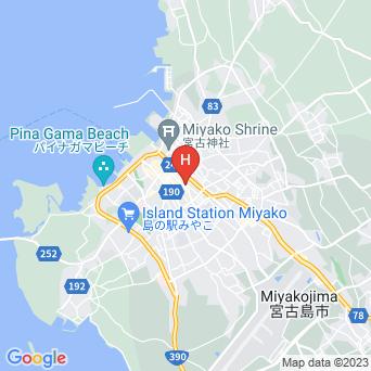 Hotel385宮古島の地図