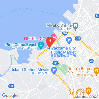 リゾートペンション クルーの地図