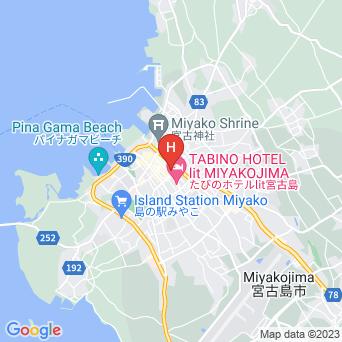 ピースアイランド宮古島の地図