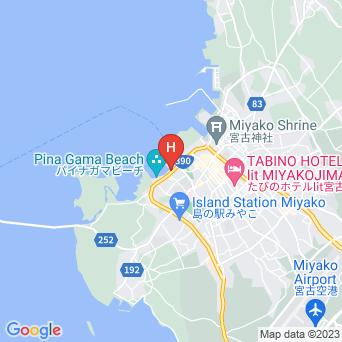 民宿南風荘の地図