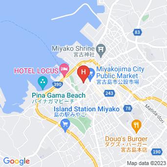 ゲストハウスフェーヌカジの地図
