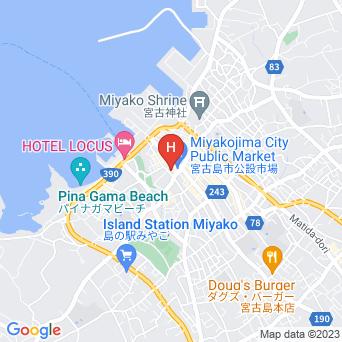 ゲストハウス綾道の地図