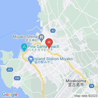 宿ゆらり/ゲストハウス Youraliの地図