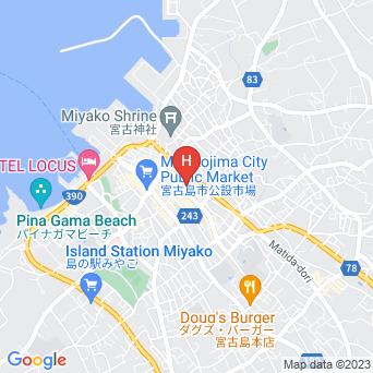 ホテルニュー丸勝の地図