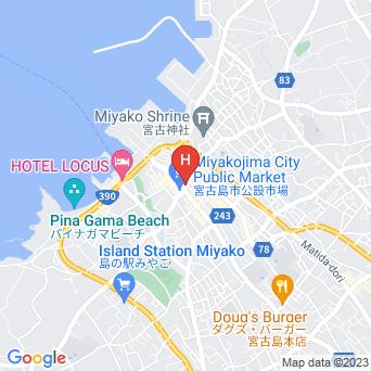 セイルイン宮古島の地図
