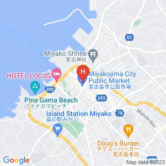 民宿ぎんざの地図