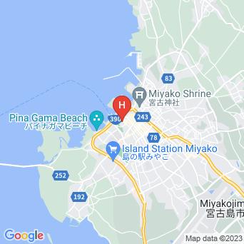 ゲストハウス 風家の地図