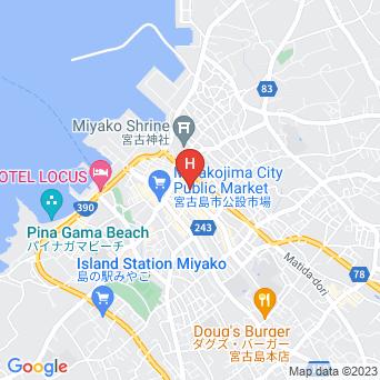 ミヤコセントラルホテルの地図