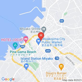 ホテル・アイランド・コーラルの地図