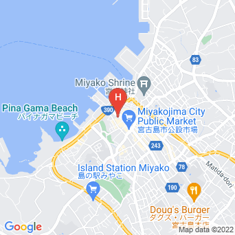 ホテルリタの地図