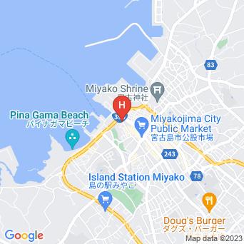 ニャンくるないさぁ〜の地図