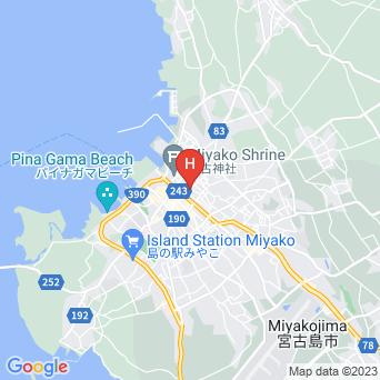 なかのや旅館の地図