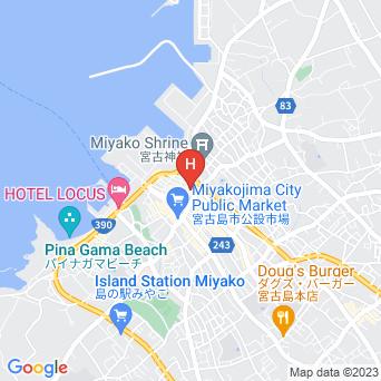 プチホテルプレミアの地図