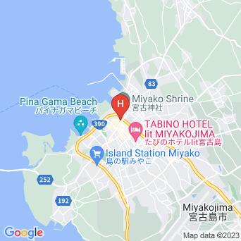 シティライフ宮古 ラブニール/L'avenirの地図