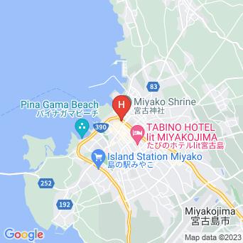 宮古島ゲストハウスホステル ゲッカ/Hostel geccaの地図