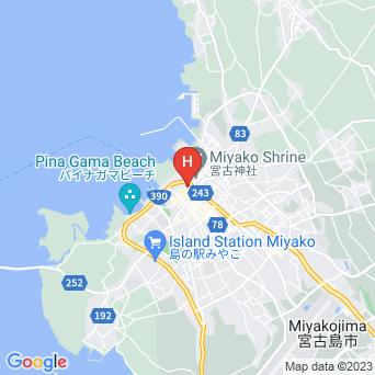 ニューポートビジネスホテルの地図
