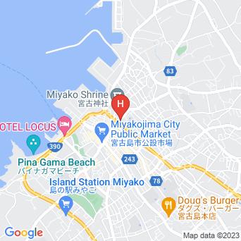 宮古第一ホテルの地図