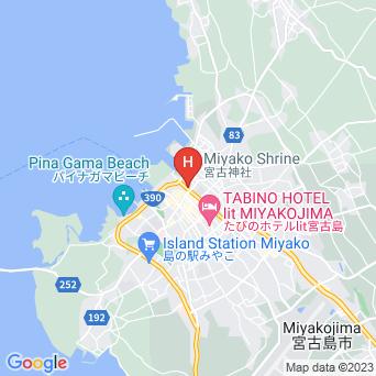 八城旅館の地図