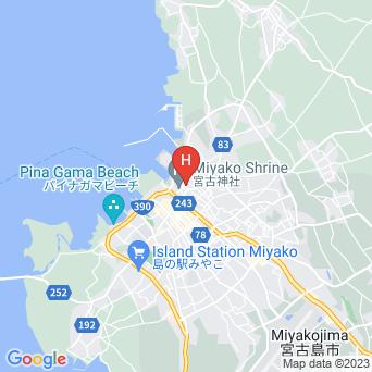 ゲストハウス ひららやの地図