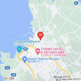 南国民宿 石水亭/離れの地図