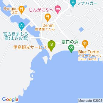 伊島観光サービスの地図