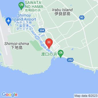 ホテルサウスアイランドの地図