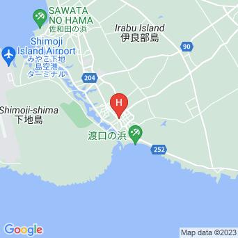 民宿カテラ荘の地図