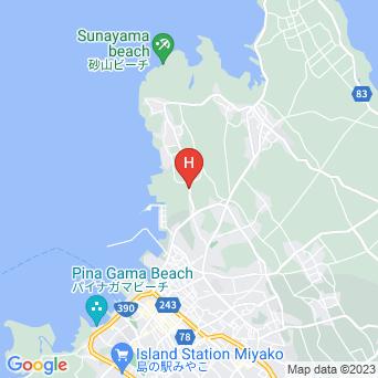 カフェ&ゲストハウス ジグソーパズルの地図