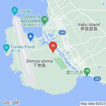 オーシャンハウスinさしば/下地コーラルホテルの地図