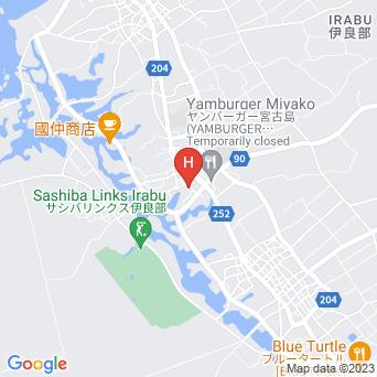 民宿まんてんの地図