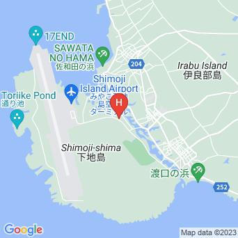 民宿キャンプ村/海の学校伊良部分校の地図