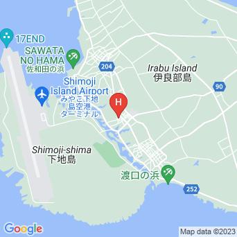ゲストハウス んみがまや〜の地図